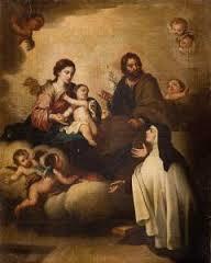 Visión de Sta. Teresa sobre la Asuncion de María