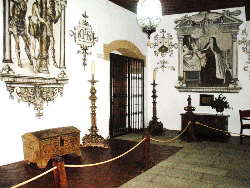 Santa Teresa en Carmelitas Descalzas, Alba de Tormes