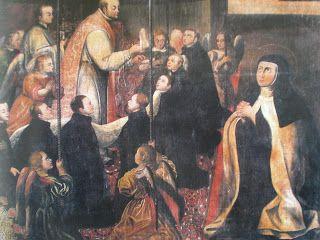 Santa Teresa de Jesús y San Ignacio