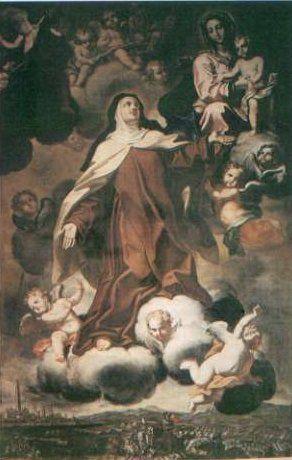 Santa Teresa y San José en Carmelitas Descalzas, Alba de Tormes