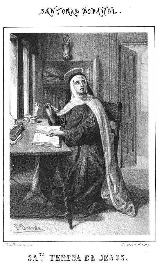 Santa Teresa de Jesús, Virgen fundadora en Carmelitas Descalzas, Alba de Tormes