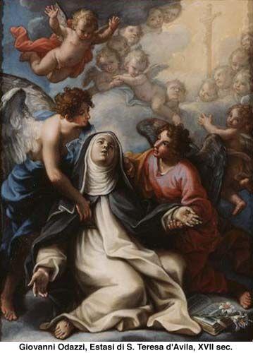 Estasi di S.Teresa D'Avila en carmelitas Descalzas, Alba de Tormes