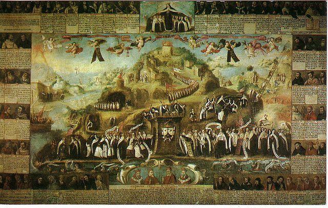 Apoteosis del Carmelo en Carmelitas Descalzas, Alba de Tormes