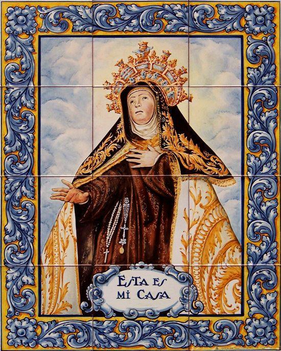 Estatuas Santa Teresa de Jesús