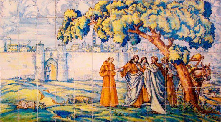 Santa Teresa de Jesús y San Juan de la Cruz llegan a Valladolid