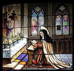 Santa Teresa se encomienda a San José