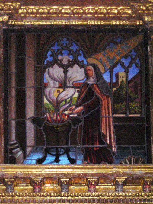 La Santa quema, por obediencia, el Cantar de los Cantares en Carmelitas Descalzas, Alba de Tormes