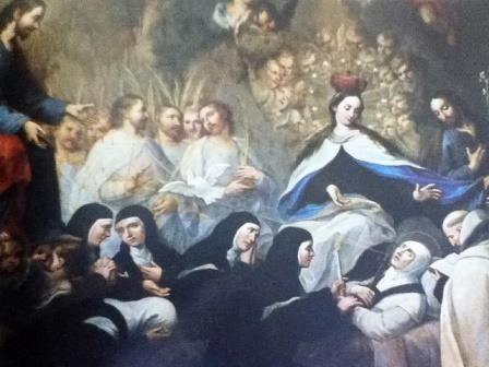 La Muerte de Sta. Teresa de Jesús en carmelitas Descalzas, Sepulcro de Santa Teresa