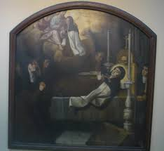 La Muerte de Santa Teresa de Jesús Museo del Carmen en Carmelitas Descalzas, Sepulcro de Santa Teresa