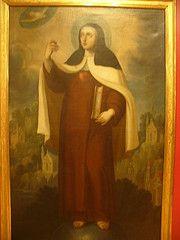 Sta. Teresa de Jesús en Carmelitas Descalzas, Alba de Tormes