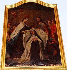 La Visión del Collar y del Manto de Santa Teresa en Carmelitas Descalzas, Alba de Tormes