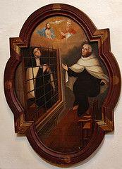 Teresa de Jesús y San Juan de la Cruz en su coloquio sobre Santísima Trinidad