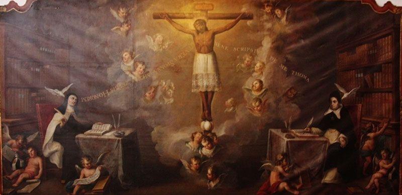 La Ciencia de Cristo Crucificado, en Santa Teresa de Jesús y Santo Tomás de Aquino en carmelitas Descalzas, Alba de Tormes