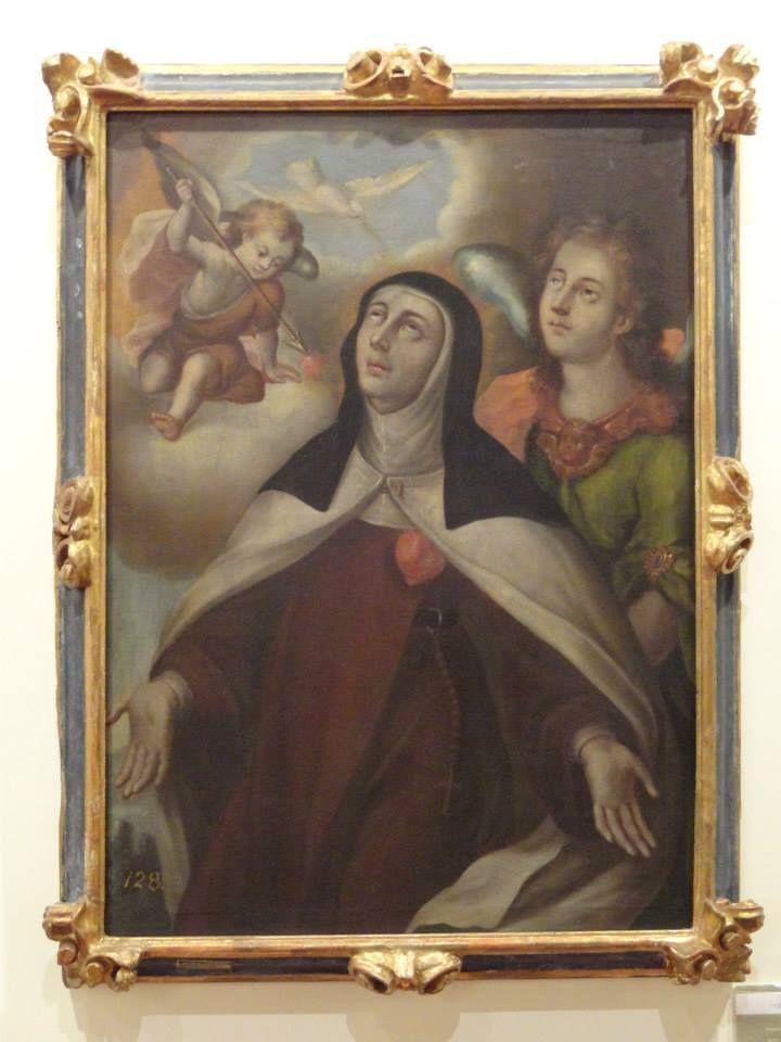 Santa Teresa de >Jesús y San Juan de la Cruz con la Reforma del Carmelo en Carmelitas Descalzas, Sepulcro de Santa Teresa