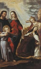 La Transverberación de Sta. Teresa de Jesús en carmelitas Descalzas, Alba de Tormes