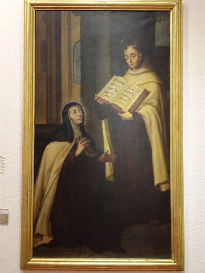 Santa Teresa de Jesús y San Juan de la Cruz con la Reforma del Carmelo en carmelitas Descalzas, Alba de Tormes