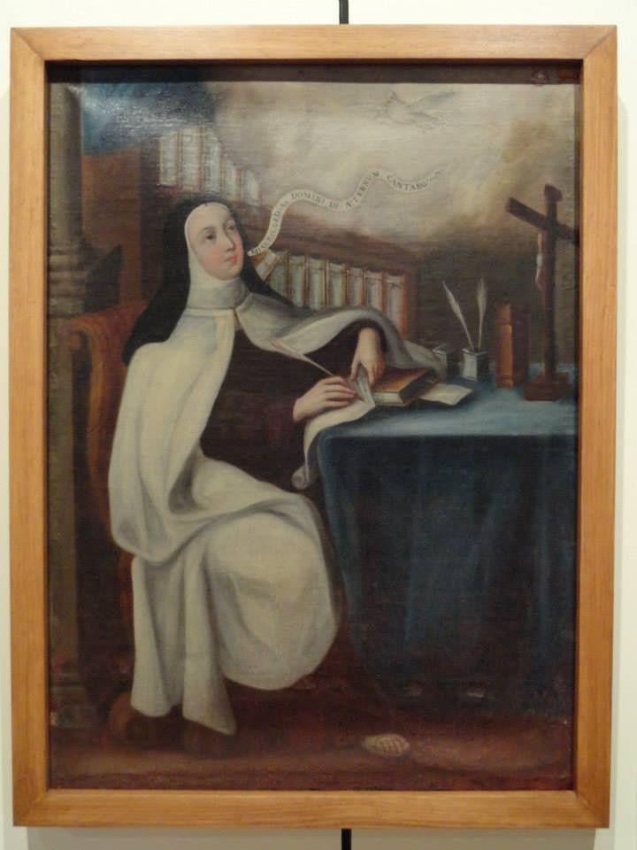 Santa Teresa de Jesús Museo Regional de Puebla