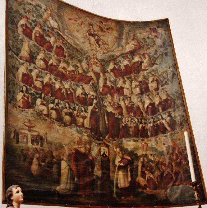 El Árbol del Carmelo Descalzos en Carmelitas Descalzas, Alba de Tormes
