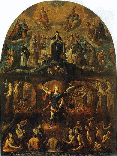 El Patrocinio de Santa Teresa sobre las Ánimas Benditas