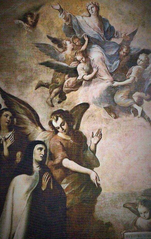Visión de Santa Teresa de Jesús sobre la Asunción de María