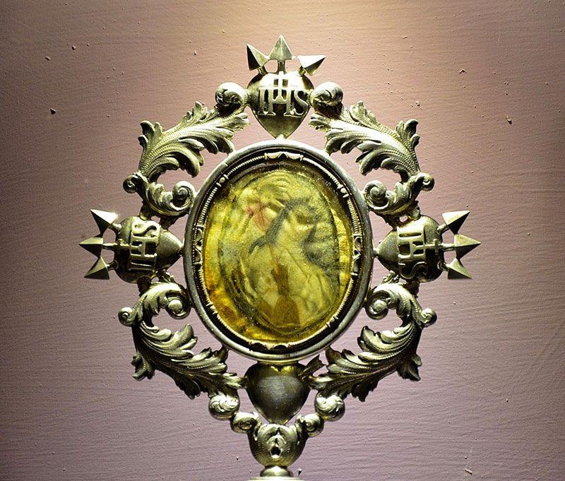 Relicario de Santa Teresa de Jesús y San Juan de la Cruz