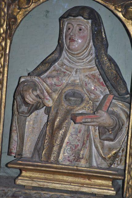 Retablillo de Mujeres Santas en Carmelitas Descalzas, Alba de Tormes