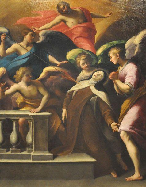 El transverberación de Santa Teresa