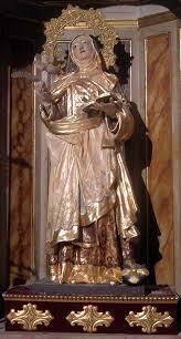 Santa Teresa de Jesús, Virgen y Doctora de la Iglesia en Carmelitas Descalzas, Sepulcro de Santa Teresa