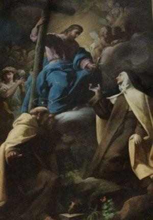 Los Desposorios místicos de Santa Teresa