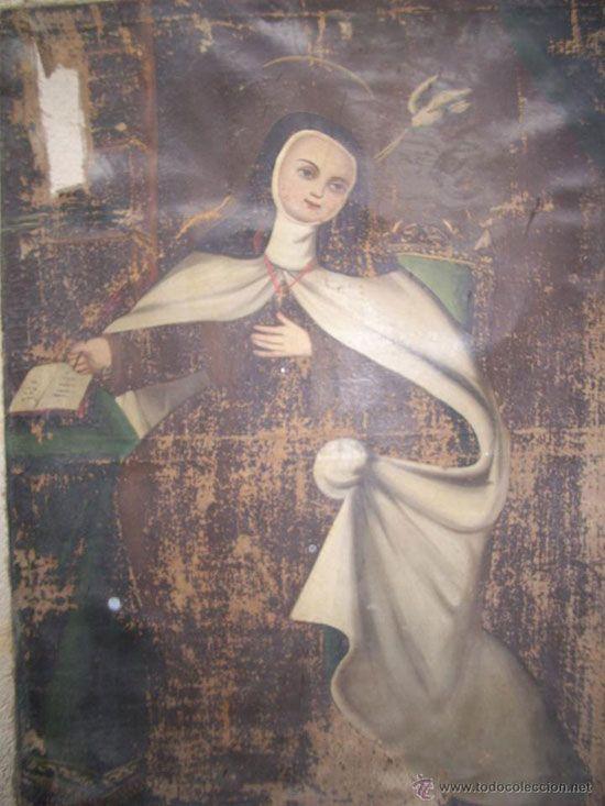 Santa Teresa sin coronar