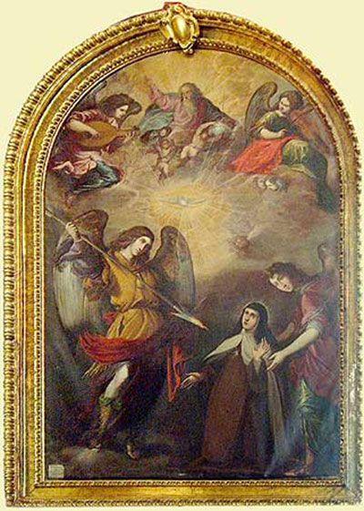 Santa Teresa transverberada en Guadalajara