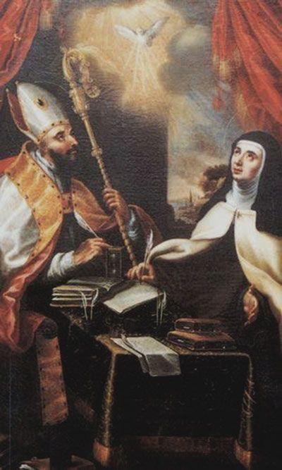 San Agustín y Santa Teresa