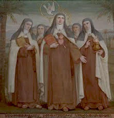 María Ana de Jesús, Santa Teresa y la Beata Ana de San Bartolomé