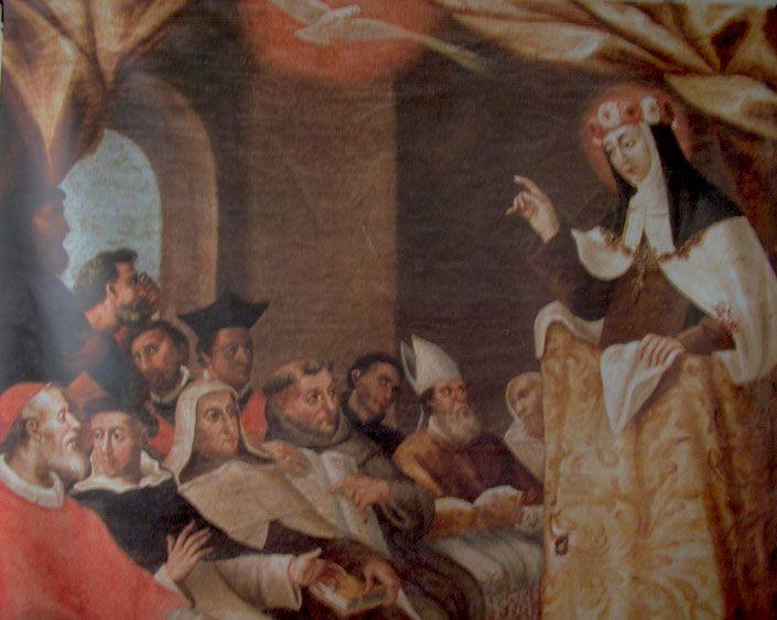 Santa Teresa, catedrática