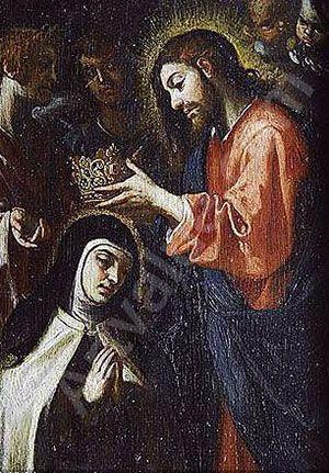 Coronación de Santa Teresa de Jesús