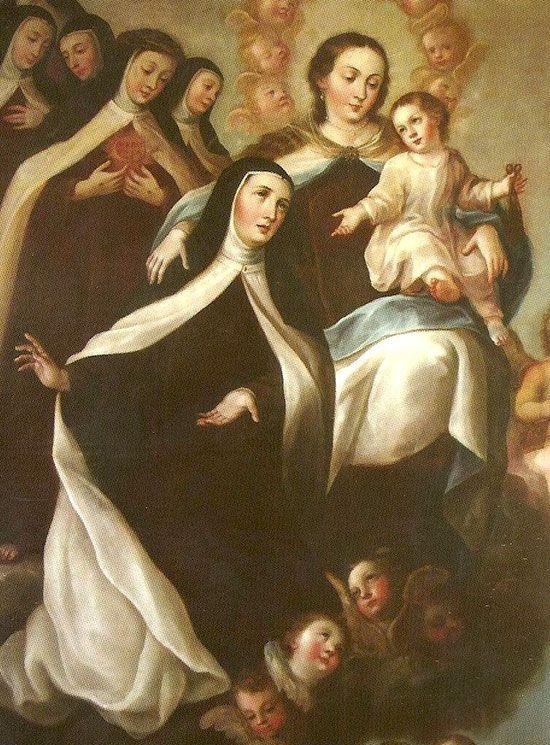 La Virgen del Carmen, Santa Teresa y las vírgenes consagradas en el Carmelo