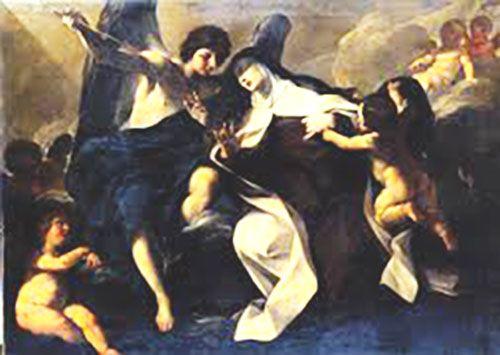 Estigmatización de Santa Teresa de Ávila