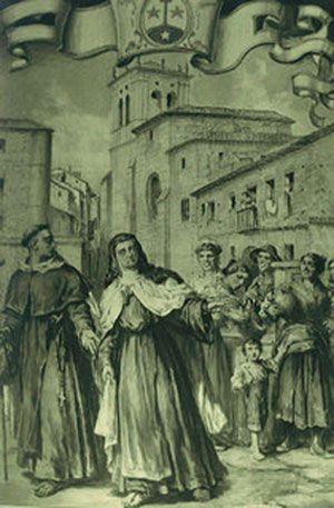 Santa Teresa en Burgos