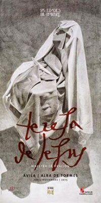 Cartel para anunciar la edición extraordinaria de la muestra de arte sacro «Las Edades del Hombre» que tendrá lugar entre los meses de Abril y Noviembre de 2015