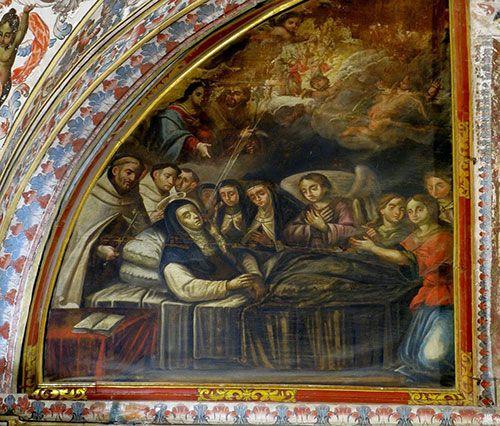 Muerte de Santa Teresa