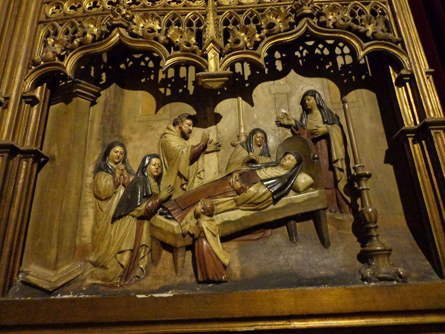Muerte de Santa Teresa de Jesús