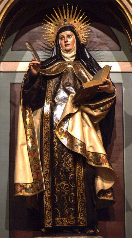 Santa Teresa, Escritora