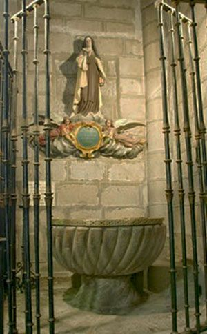 Pila bautismal de Santa Teresa