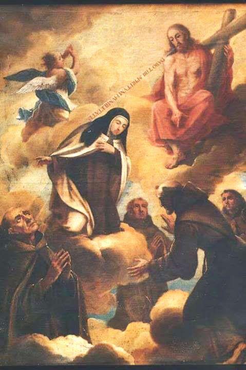 San Pedro de Alcántara y Santa Teresa alaban al Señor