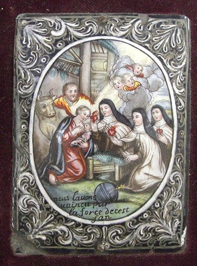 Belén con Santa Teresa