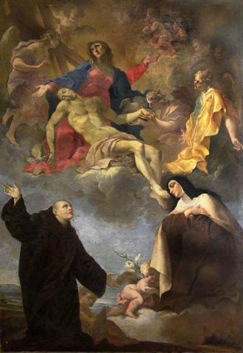 Santa Teresa de Ávila y San Juan de Dios