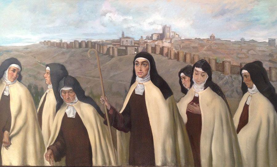 Monjas Carmelitas ante Ávila
