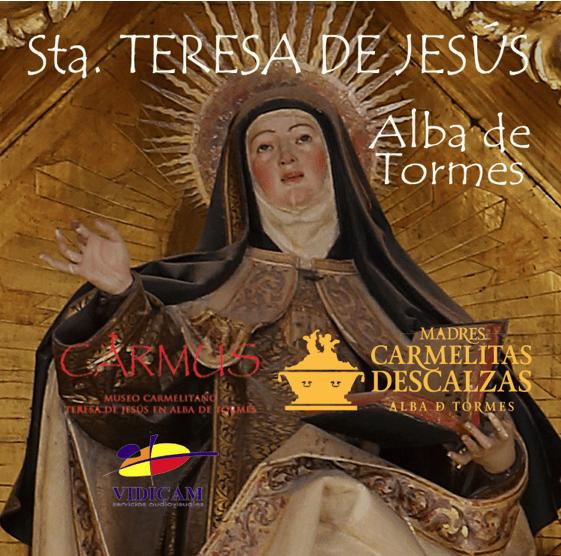 Ya a la venta DVD de Santa Teresa de Jesús en Alba de Tormes
