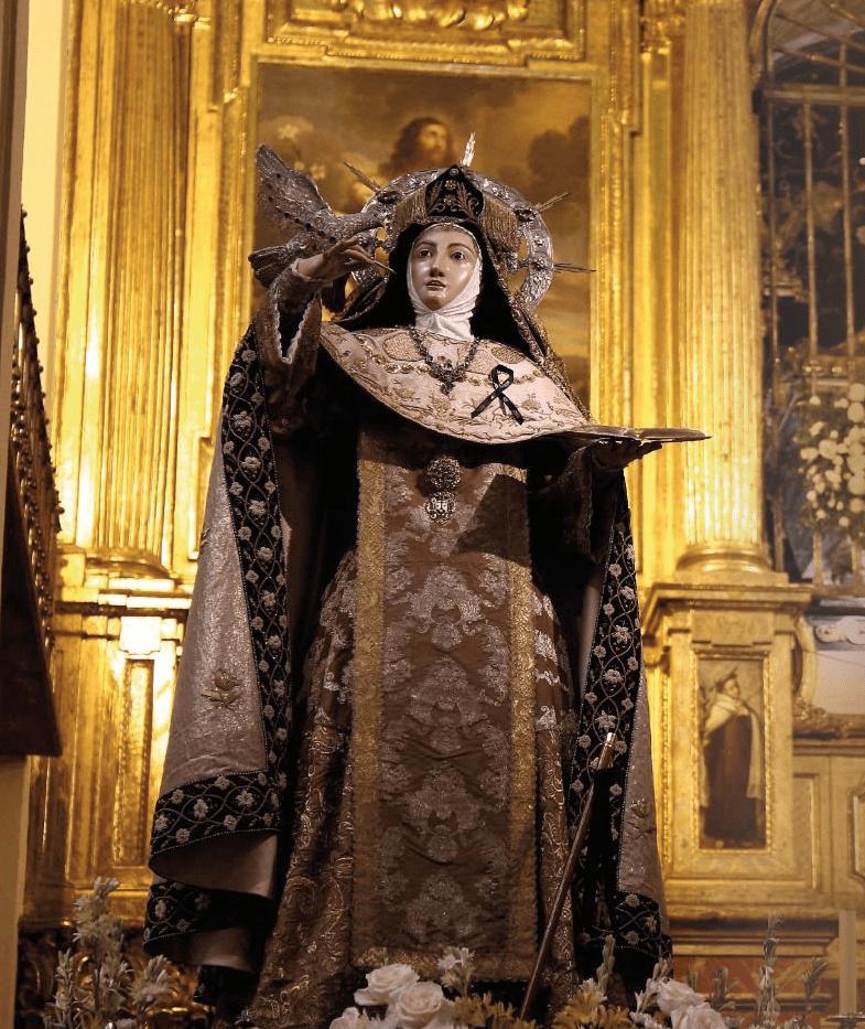 Fiesta de la Transverberación del corazón de Santa Teresa de Jesús